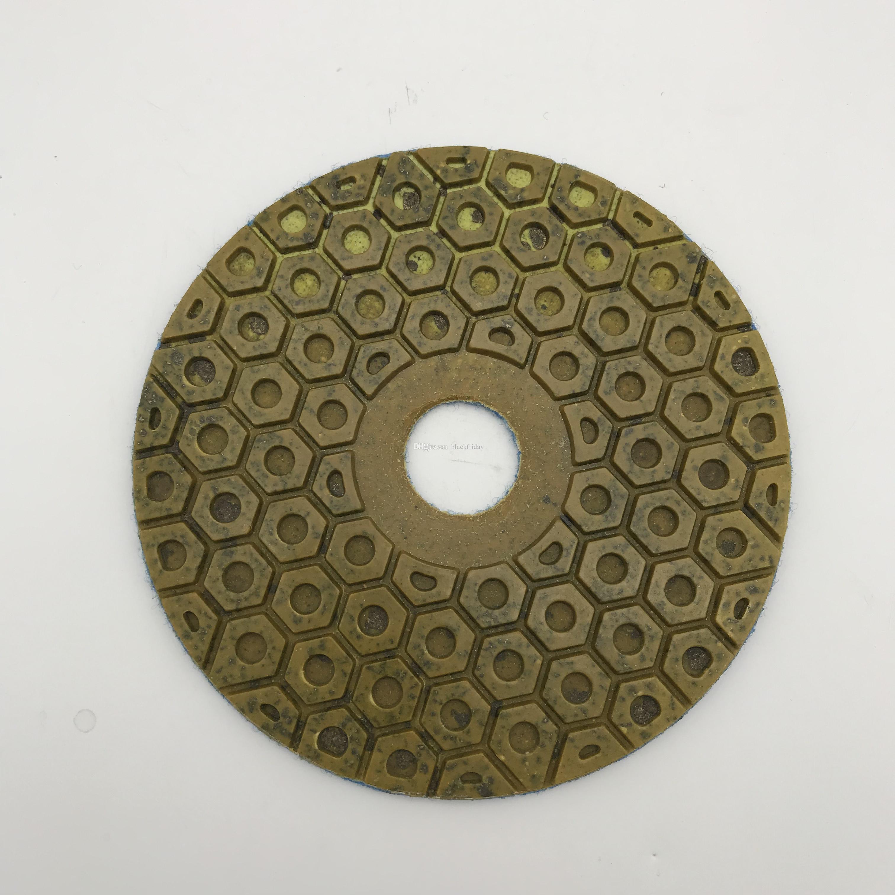 Diamond Metal Polishing Pad 6 inch (150 mm) for Granite Concrete Floor  Grinding Stone Resin Circle Polishing Wheel Grit 50