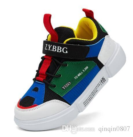 81c1b4e8f703 2018 New Online Sale Cheap New Kids Basketball Shoes For Boys Girls Sneakers  Children Babys Running Shoe Size Kid Shoes Sports Shoes For Kid From  Qinqin0807 ...