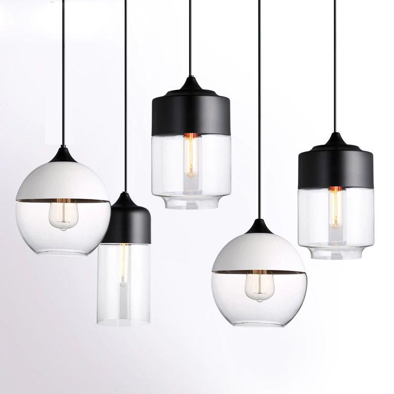 Acquista Moderne Lampade A Sospensione Globo Lampada A Sospensione ...