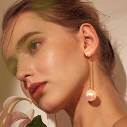 Novo 2019 Design Criativo Para A Mulher Jóias Alta Elegante Brincos De Cristal Do Círculo Rodada Ouro / Prata Brincos Festa De Casamento
