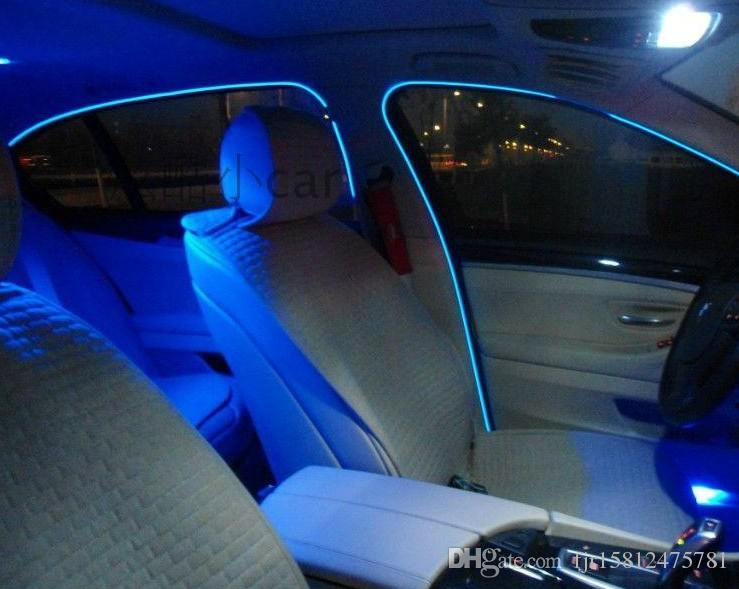 Haoyuehao El Band Edge Car Led Cold Light Inside The Atmosphere Lamp