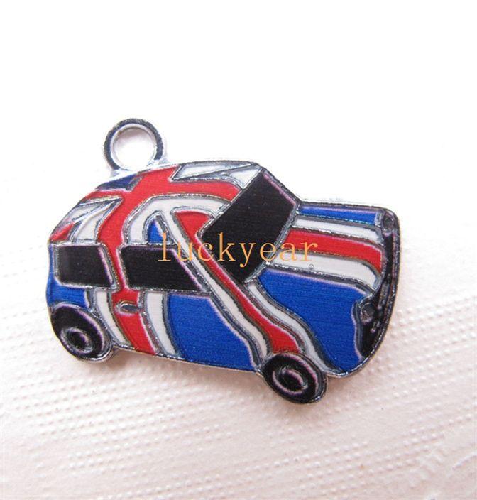 2018 New British Flag Car Diy Jewelry Making Metal Charm Pendant