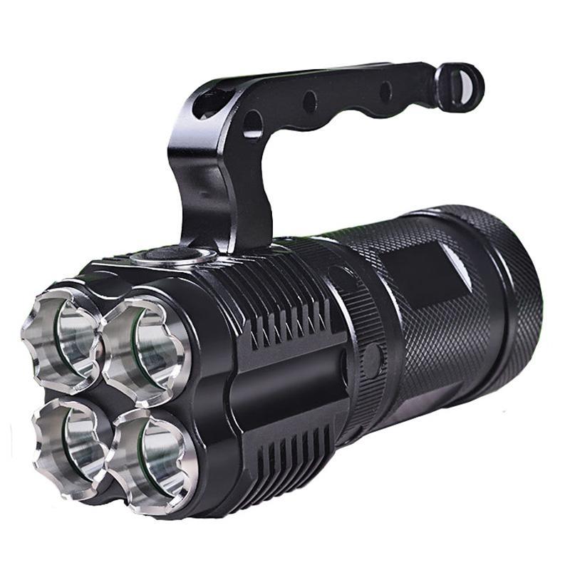 73e35dde1a9 Compre Luz Portátil De Alta Qualidade 4 X L2 Destaque 6000 Lumens Tático  Led 3 Mode Camping Táticas Luz Da Tocha De Kuyee