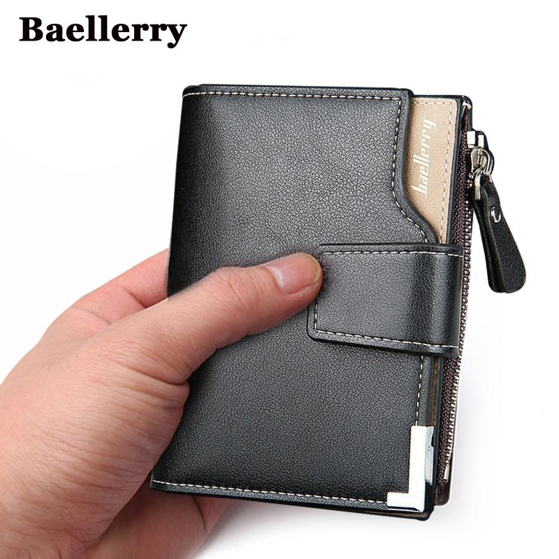 0adb143b6b7 Wallet Men Leather Men Wallets Purse Short Male Clutch Leather Wallet Mens  Money Bag Quality Guarantee Custom Leather Wallets Handmade Leather Wallet  From ...