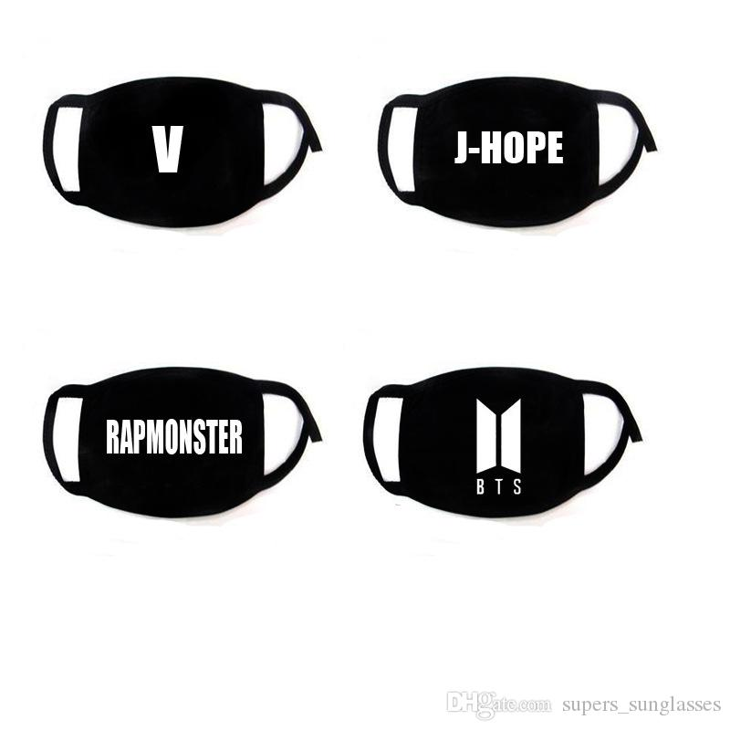 Tapabocas KPOP BTS Masque Bouche Aime Moi Moi Respirateur Muffle Unisexe Bangtan Garçons Masque Coton SUGA JIN J-HOPE JUNG KOOK Tao