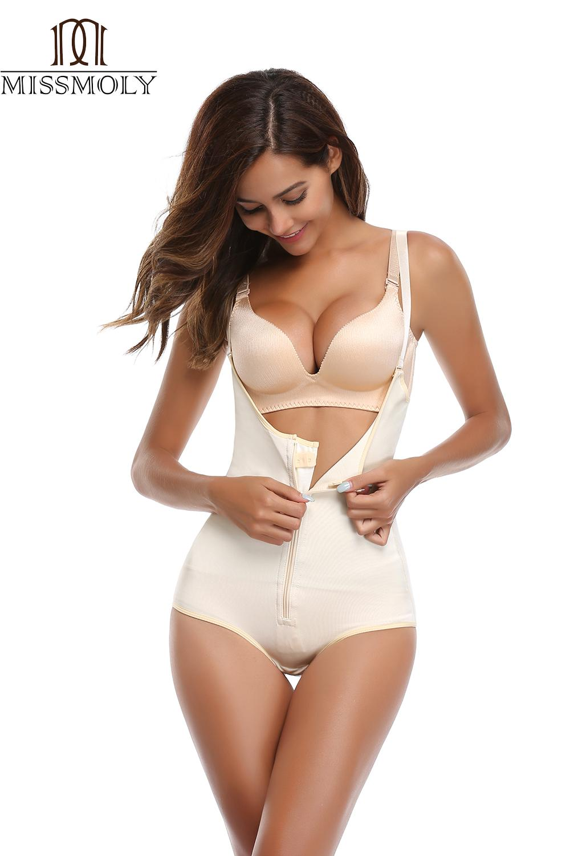 81c1effc57c4f 2019 Woman Slim Underwear One Piece Bodysuit Shapewear Lady Underbust Body  Shapers S M L XL 2XL 3XL Lingerie Plus Size Waist Trainer From Clothesg519