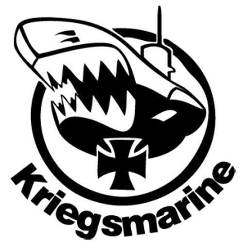 2019 Kriegsmarine Decal Vinyl Car I Pad Laptop Window Wall Bumper