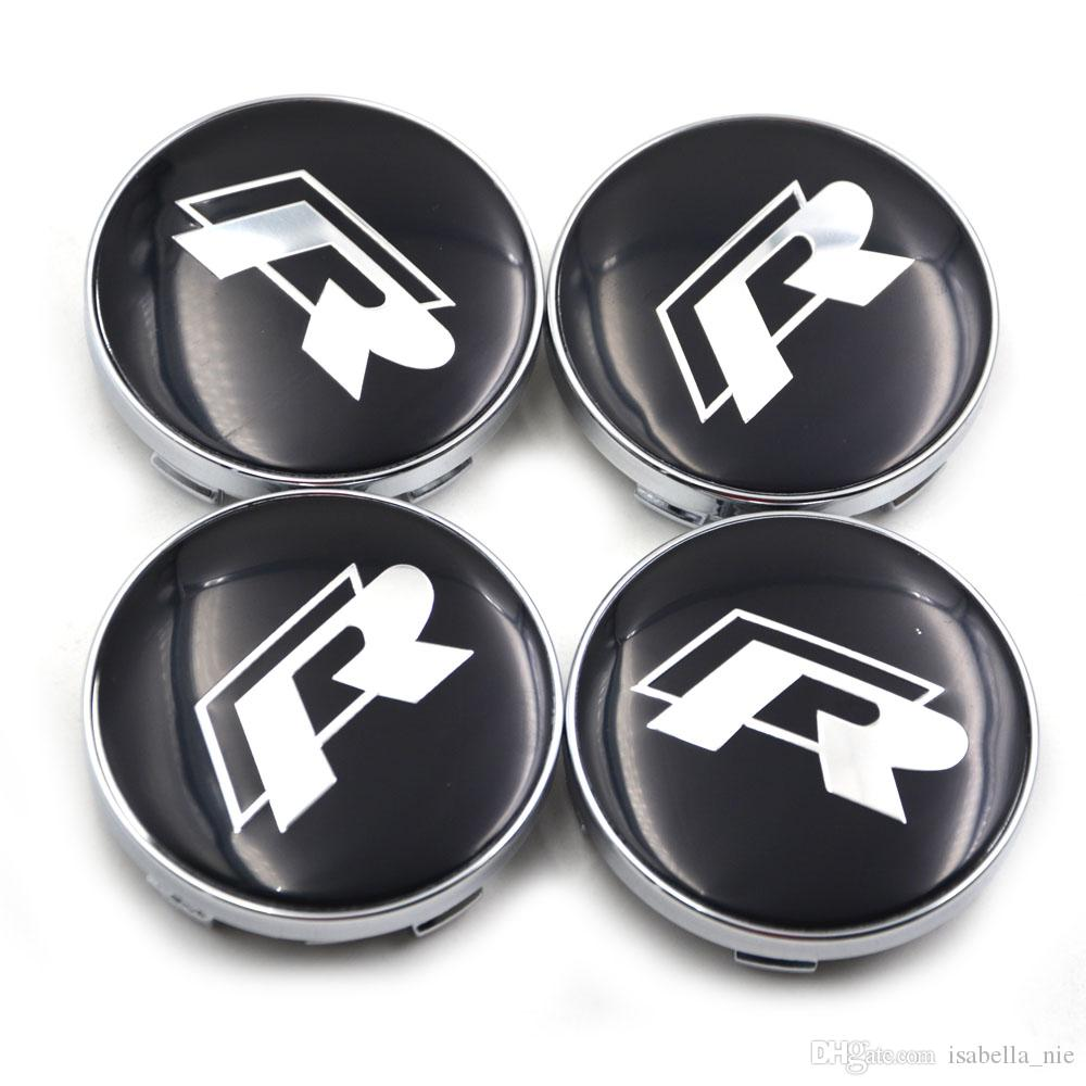 gro handel 4 st cke 60mm vw gti rline sr radmitte nabendeckel f r volkswagen emblem logo auto. Black Bedroom Furniture Sets. Home Design Ideas