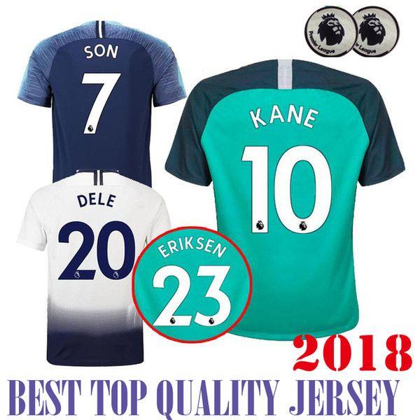 83c9fb92a ... new zealand kane dele 2018 2019 home away 3rd soccer jersey premier  league eriksen lamela janssen