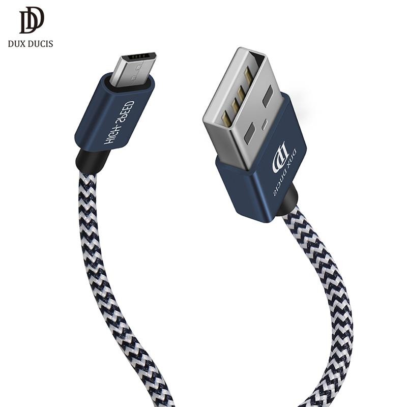 Dux Ducis 2 Pack Micro Usb Cable Nylon Data Fast Charging Usb Cable ...