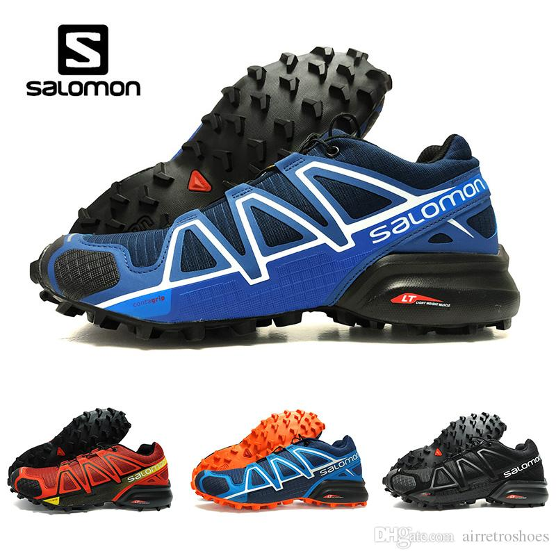 cdffdca825be Drop Shipping New Cheaper Salomon Speedcross 4 4s Blue Trail Runner Men S  And Women S Sports Shoes Fashion Sneakers Outdoor Running Shoes Sport Shoes  Mens ...