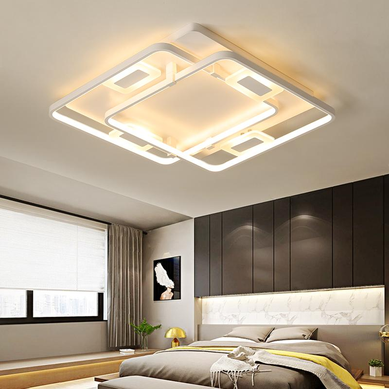 Deckenleuchten & Lüfter Dimmen Decke Lichter Für Wohnzimmer Schlafzimmer Home Ac85-265v Moderne Led-deckenleuchte Leuchten Glanz Plafonnier Beleuchtung Licht