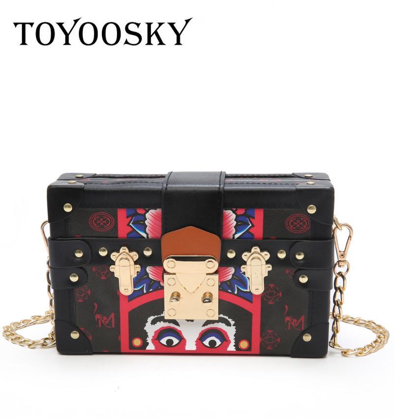 899d8e961f TOYOOSKY Luxury Box Shape Tote Women Handbag Brand Acrylic  PU Black Evening  Clutch Bag Ladies Prom Party Purse Shoulder Sac Man Bags Crossbody Purses  From ...