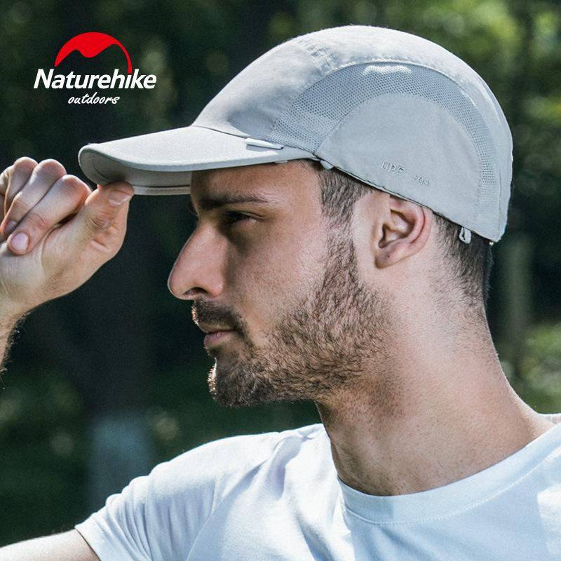 2019 Naturehike Sun Hat Men Hats Men Summer Fishin Cap Cover Face Uv