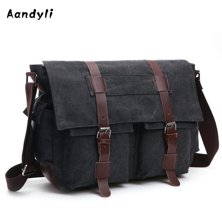 Large Capacity Men S Crossbody Bag Laptop Men Bags Canvas Shoulder Bag Men  Messenger 8168 Red Handbags Italian Leather Handbags From Faaa
