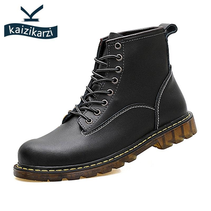 751a8715d KaiziKarzi Vintage Men Real Leather Oxford Ankle Boots High Quality Fur  Warm Boots Work Shoes Male Footwear Size 38 44 Cat Boots Shoe Sale From  Shoesbuddy, ...