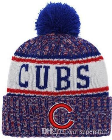Top Selling Chicago Beanie Beanies Sideline Cold Weather Reverse Sport  Cuffed Knit Hat With Pom Winer Skull Caps Fitted Caps Knit Hats From  Superstar6 9459dfa7ebd