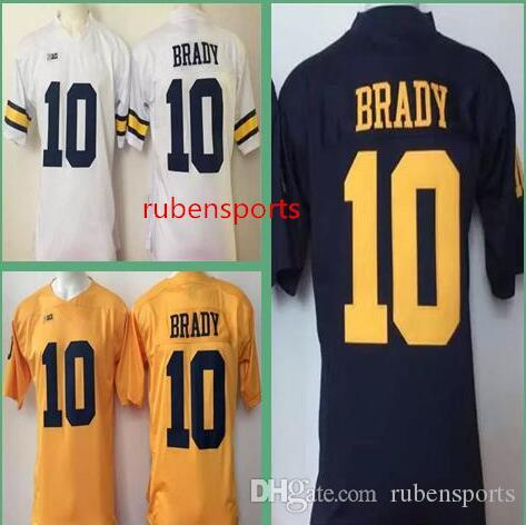 Online Cheap Wholesale Mens Womens Kids Michigan Wolverines 10 Brady Jerseys  Stitched Cheap Ncaa College Football Jerseys a82af8bf7