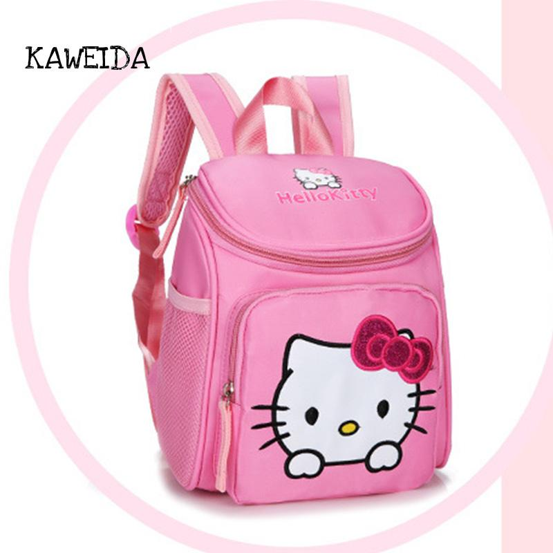 08be496773 Mini Hello Kitty School Bags For Toddler Kids Cute Children My Little Pony  Schoolbag Orthopedic Backpack Day Pack For Boys Girls Rolling Backpacks For  ...