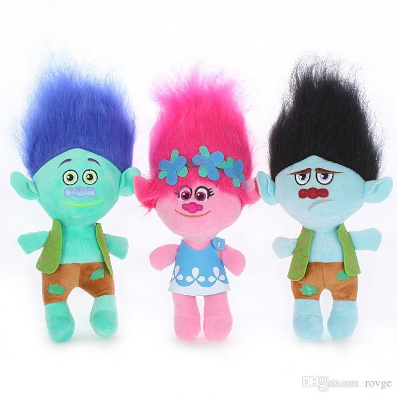 2018 2018 New Magic Hair Bobi Bulanqi Trolls Plush Toys The Colored
