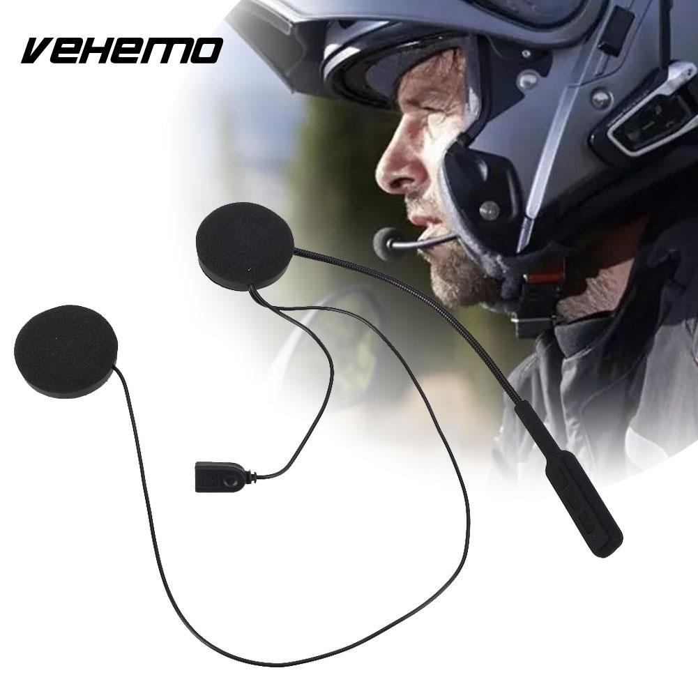 2cdb3ad3ef5 Vehemo Helmet Headphone Motorcycle Headset Bluetooth 4.0 5V Riding Wireless Bluetooth  Headset Quality Hands Free Sports Helmets For Bikes Sports Motorcycle ...
