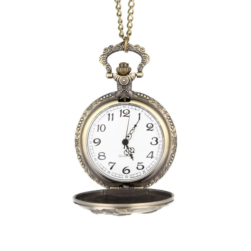 2d817aa2e Women Men Cute Gift Pocket Watch Chinese Zodiac Mouse Carved/ Hollow Quartz  Pocket Watch Pendant Necklace Clock@88 Buy Pocket Watch Pocket Watch Buy  From ...