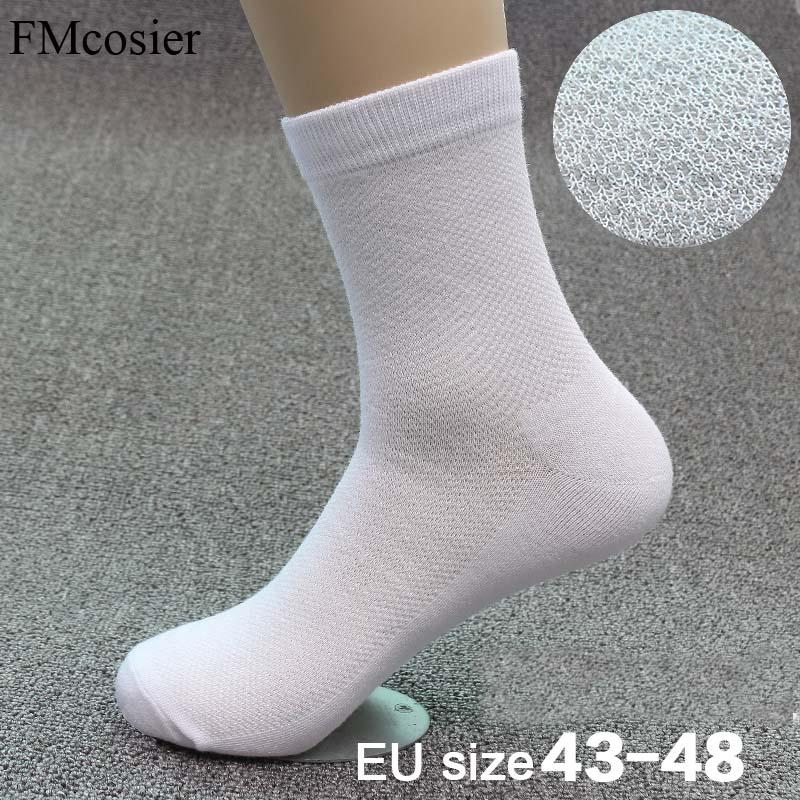 d06b80fcec1 2019 Summer Autumn Thin Men S Cotton Solid Color Classic Bussiness Dress  Breathable Mesh Socks Black White Gray Wedding Gift From Purlove