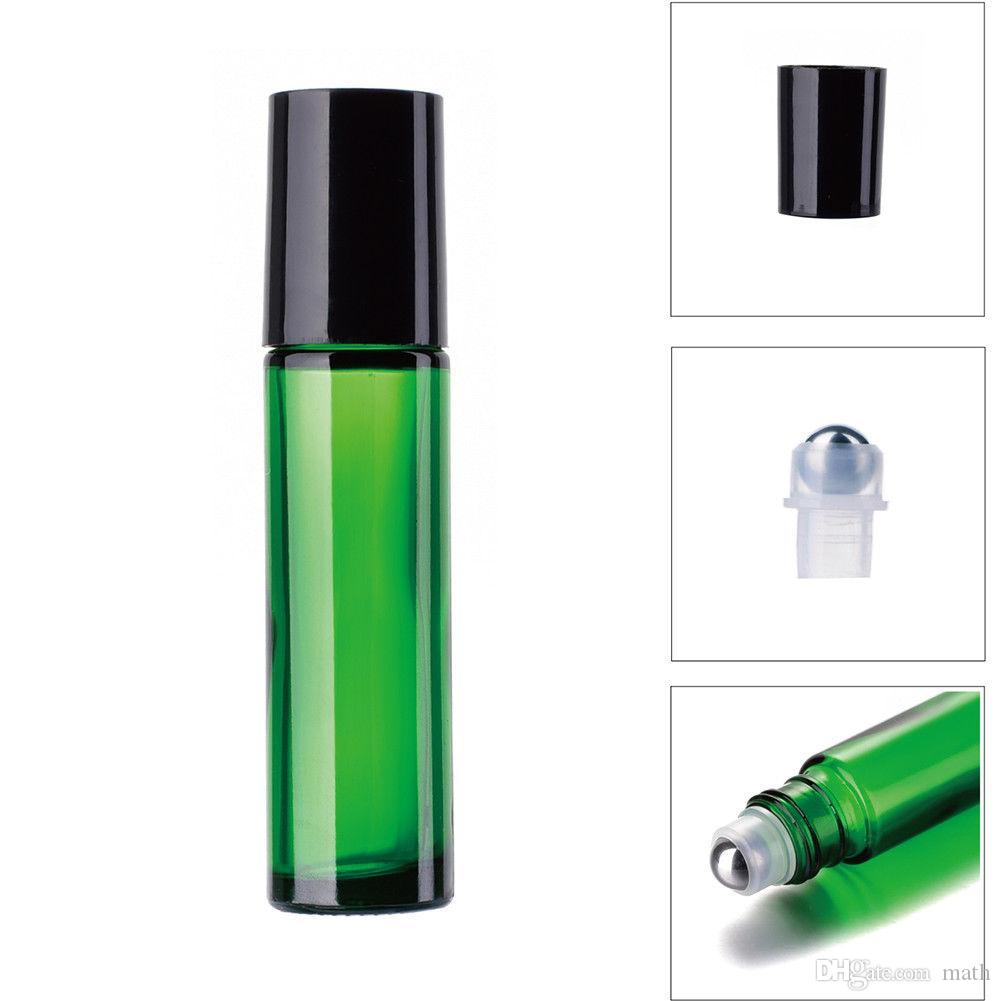 10ml Glass Essential Oil Roller Bottle Useful for Aromatherapy Perfumes And Lip Balms Glass Roll on Bottle
