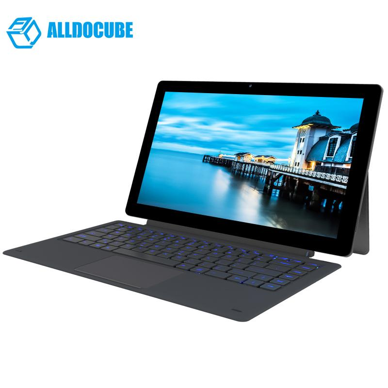 ALLDOCUBE Knote8 2 IN 1 Tablet PC 13.3 Inch 2560x1440 Windows10 intel Kabylake 7Y30 Dual Core 8GB Ram 256GB Rom Type C