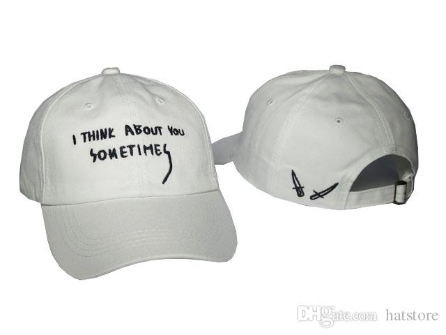 RARE IAN CONNOR I THINK ABOUT YOU SOMETIMES CAP GIANNI MORA Sun Hats YOU  GOT IT HAT Casquette Swag Baseball Snapback Caps Army Cap Cheap Hats From  Hatstore 97cd265d0a28