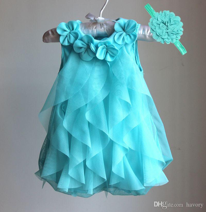 72ff25b93bbc Acheter Filles Dress 2017 D été Robe En Mousseline De Soie Infantile ...