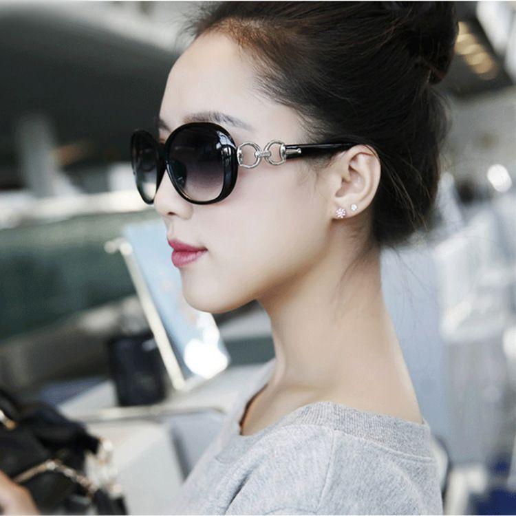 hot sale Vintage Fashionable Polarized Sunglasses Women Polaroid Gradient lens glasses women brand designer