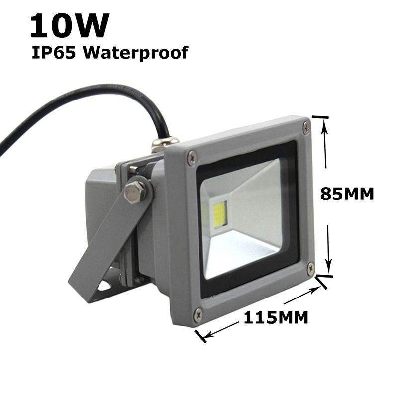 DHL 10W 20W 30W 50W 100W 150W 200W LED projecteurs lampe de projection spot lampe de publicité panneaux de signalisation lampe étanche extérieur