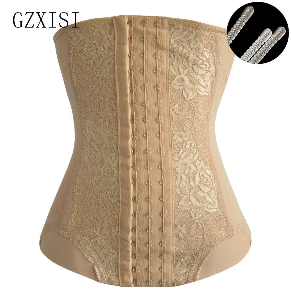 12ea10877 GZXISI Shapewear Slimming Underwear Body Shaper Corset Lace ...