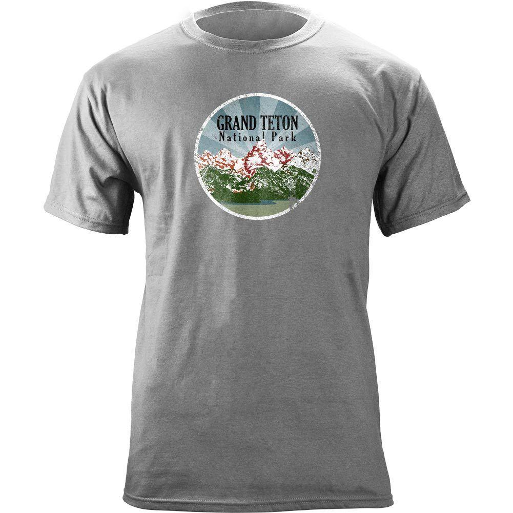 d0820b140d8 Vintage Grand Teton National Park 80 S T Shirt Shirt Custom T Shirts From  Blastgear