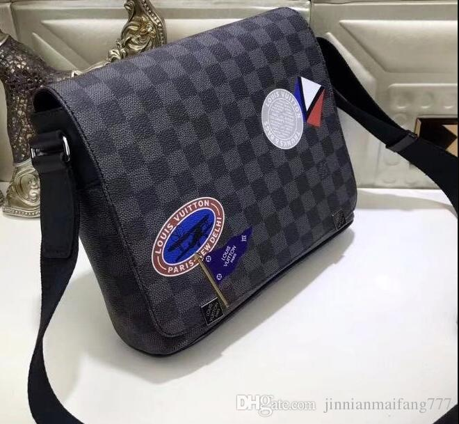 b77272267b2d LOUIS VUITTON women men Bag Promotional Ladies luxury PU Leather Handbag  Chain Shoulder Bag Plaid Women men Crossbody Bag  23