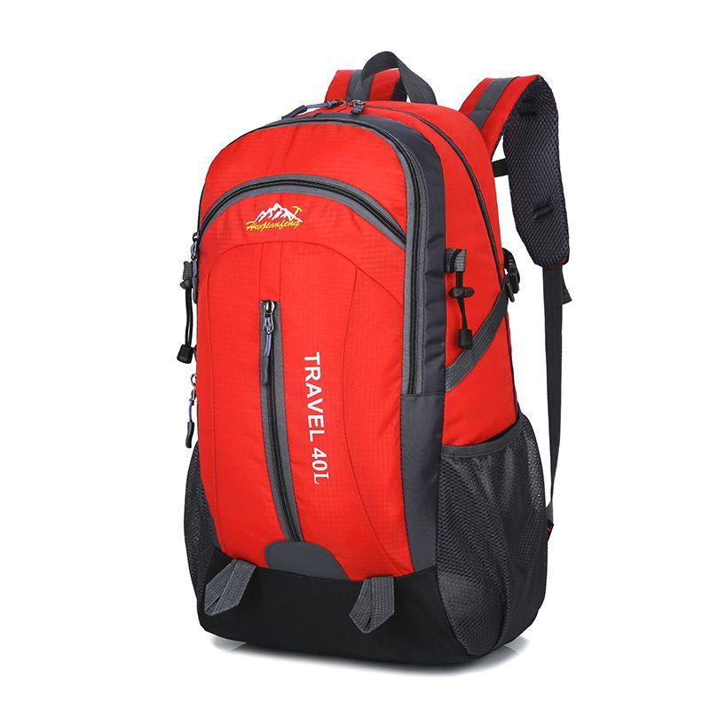 9772ea3b7a 40L Outdoor Camping Bag For Men Women Waterproof High Quality Nylon Hiking  Backpack Lightweight Climbing Bag Camping Backpack Backpacks From  Wangbeiche