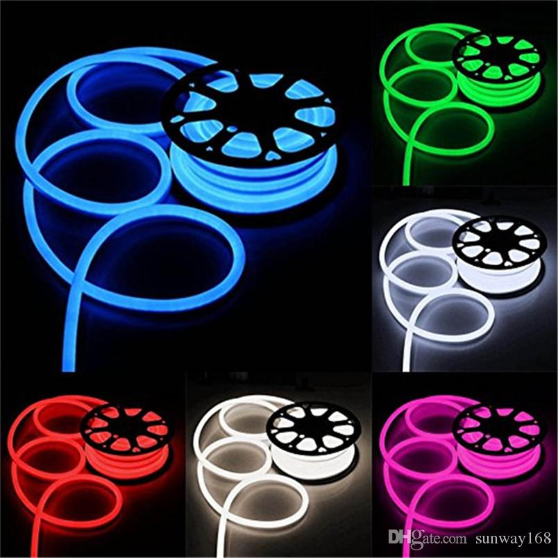 Best quality led strip neon flexible rope light waterproof ip68 mini best quality led strip neon flexible rope light waterproof ip68 mini led tape 220v 110v flexible ribbon for outdoor lighting with power plug at cheap price aloadofball Gallery