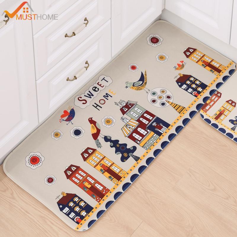 Beau Cartoon Antislip Bath Mat Microfiber Print Bathroom Bath Rug/Kitchen Rug  Blue Patio Chair Cushions Sunbrella Cushions From Linita, $38.63  DHgate.Com
