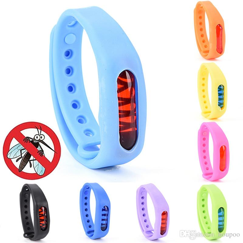 Ultrasonic Anti Mosquito Insect Pest Bugs Repellent Repeller Wrist Band Bracelet