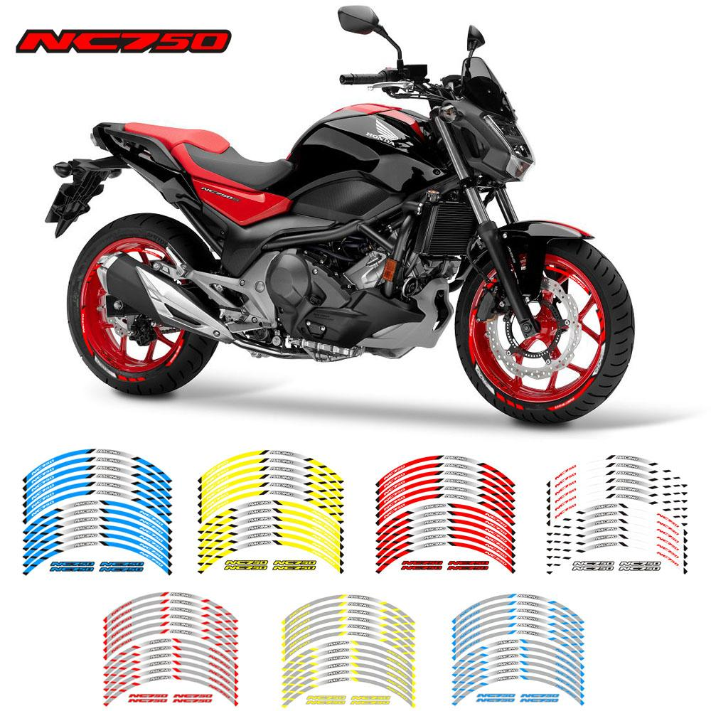 2019 motorcycle front and rear wheels edge outer rim sticker reflective stripe wheel decals for nc750 from sanjiaomeiflo 30 79 dhgate com