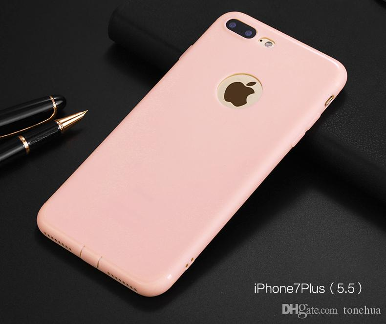For iPhone X 7/8 6 6Plus Froster Phone Cases Soft TPU Anti-Fingerprint Scratchproof Phone Cover Camera Protection Back Shell