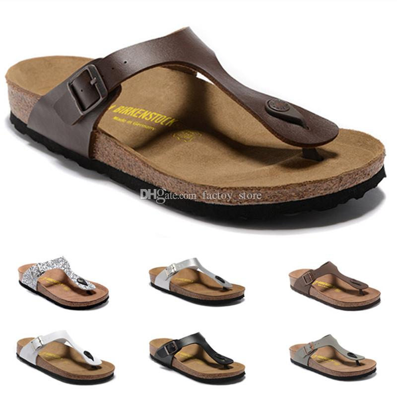 95286fef6 Gizeh 2018 New Summer Beach Cork Slipper Flip Flops Sandals Women Men  Casual Slides Shoes Flip Flops Designer Shoes Sandals 34 46 Rain Boots For  Women White ...