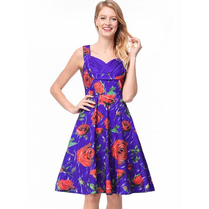 White and Purple Pleated Knee Length Dress