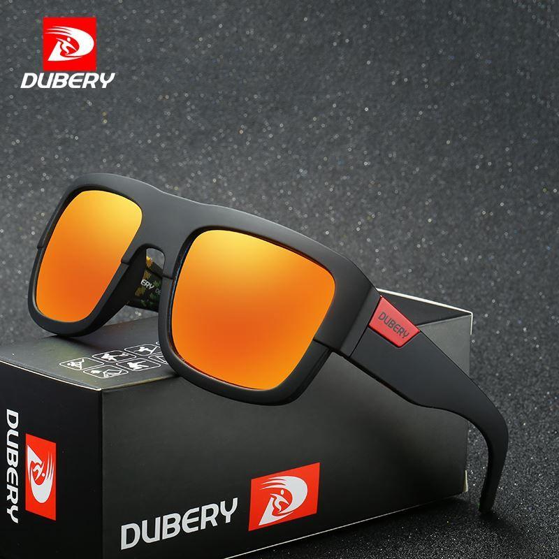 37cf2a29655 DUBERY Polarized Sunglasses Men S Shades Women Aviation Male Sun Glasses  For Men Retro Cheap 2018 Luxury Brand Designer Oculos Mens Sunglasses  Police ...