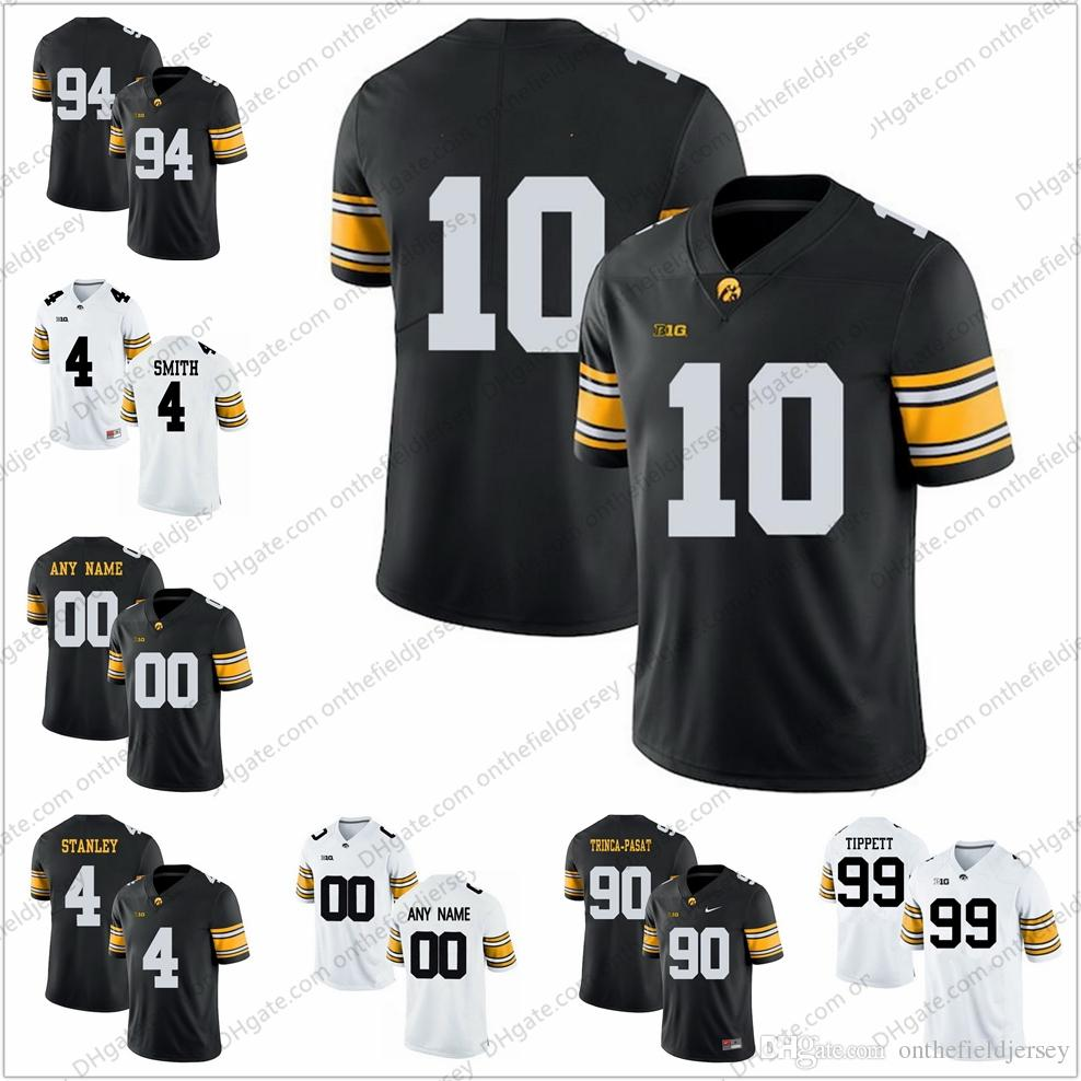 2019 Iowa Hawkeyes College Football Jerseys  10 Mekhi Sargent 94 AJ Epenesa  90 Louis Trinca Pasat 4 Nate Stanley 99 Andre Tippett S 3XL From ... 167a28a5e