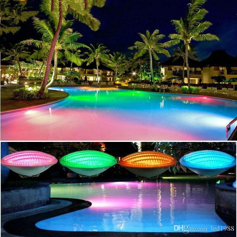 2019 RGB Multi Color Mode Swimming Pool Lamp LED 54W Par56 AC 12V With RF  Remote Controller For Garden Yard Fountain Landscape Decorative Lights From  ...