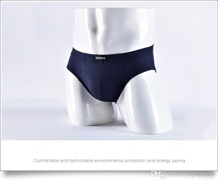 4d4ff37b3a65 5 unids / lote venta al por mayor sexy ropa interior para hombre  calzoncillos de algodón cintura baja calzoncillos hombres bragas ropa  interior ...