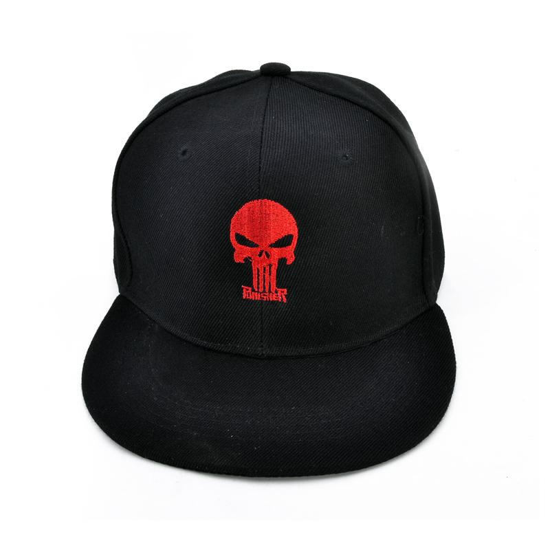 9254bcfc61a Punisher Baseball Caps Frank Castle Hip-hop Hat Fashion Outdoors Men And  Women Snapback Hat Punisher Baseball Cap Snapback Hat Online with   9.29 Piece on ...