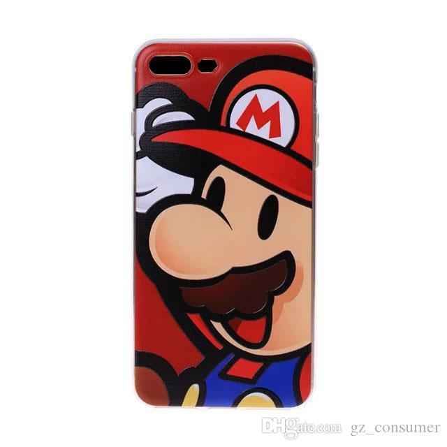Satın Al 2018 Yeni Karikatür Boyama Telefon Kılıfı Için Iphone 7 6 S